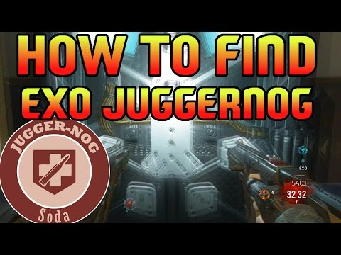 CoD AW Zombies - How to Find EXO JUGGERNOG! (CoD AW Zombies Exo Suit Upgrade)