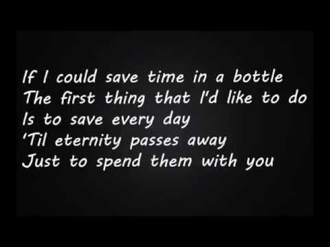Jim Croce -Time In A Bottle (Lyrics)