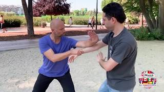 5 Section Taijiquan Partner Bare-hand Form performed by Adrian Tineo and Stephan Moratti