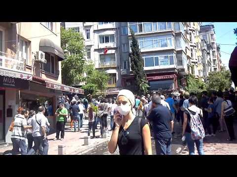 Istanbul Protests In Cihangir