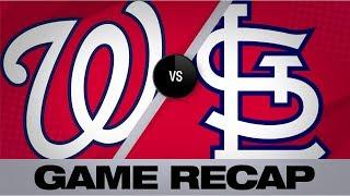 Wainwright, Edman help Cards top Nats, 5-1 | Nationals-Cardinals Game Highlights 9/18/19