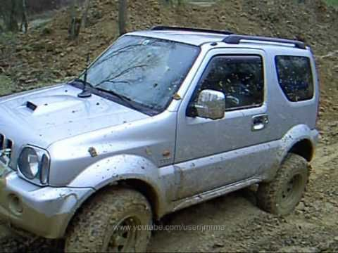 Take 5 Jimnys - Suzuki Jimny OffRoad 2010-11 - YouTube