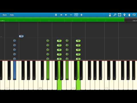 Childish Gambino - Sober - Piano Tutorial - Synthesia - How to play Sober