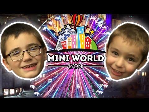 VLOG - Mini illuminations à MINI WORLD pour la fête des lumières 2015 à Lyon