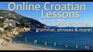 LEARNING Croatian LANGUAGE with Vinny,  Dutch to Croatian language, The basic oow oow haha