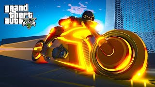 """SUPER TRYB - LINIA ŚMIERCI! w GTA 5 Online Hogaty i EKIPA """"FUTURE MOTOCYKL!"""" #307"""