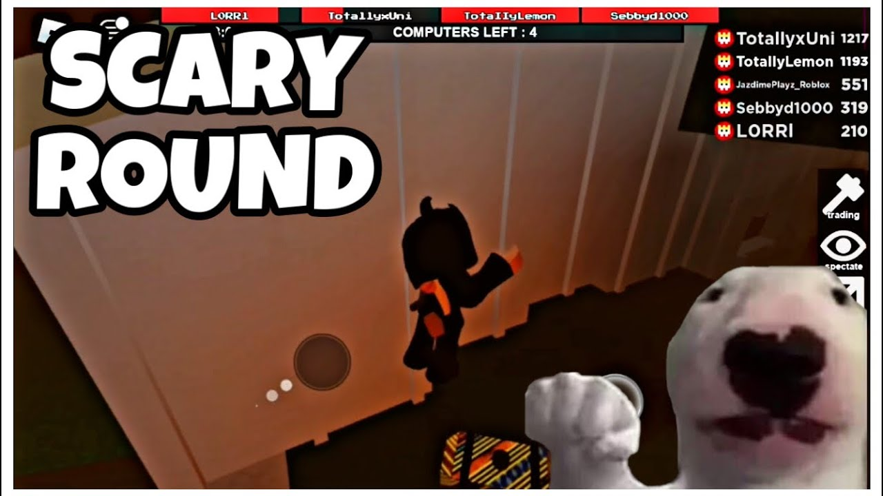 Download SCARY ROUND!- Flee The Facility- Roblox