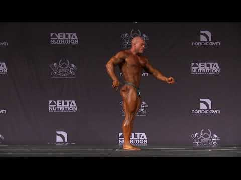 2019 Nordic Shape Open - Bodybuilding Over 85kg Free Posing