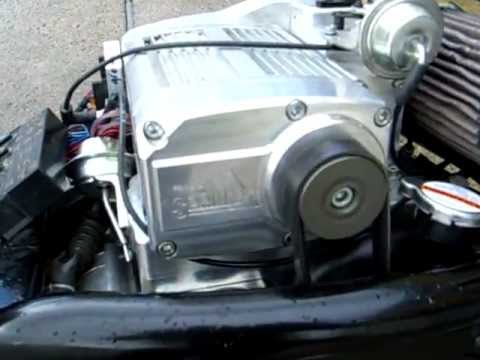 VROD with Sprintex Supercharger