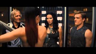 [THG] ◄ Catching Fire - Elevator Scene ►