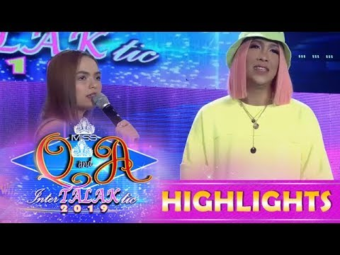 It's Showtime Miss Q and A: Vice Ganda asks Stephen to sing