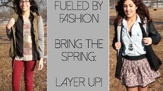 Bring The Spring: Layer Up! - Fueled By Fashion Thumbnail