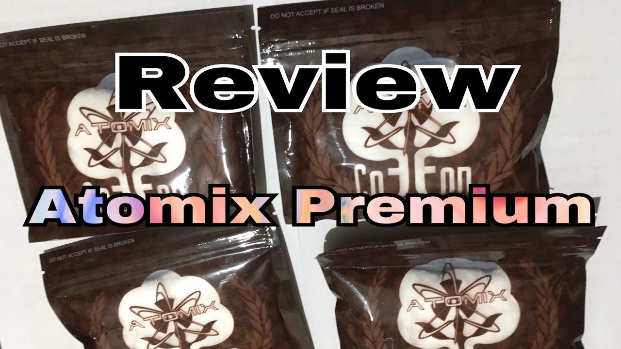 Review Kapas Atomix Premium Blend Youtube Flava Cotton Vape Not Or Bacon