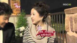 maid hongki singing poker face while bbq ing