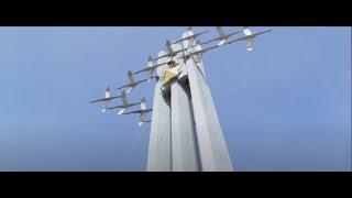 Началась реставрация второй звезды на памятнике «Журавли»
