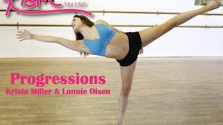 Progressions across the floor (Dance Instruction)