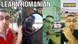 LEARN A FEW WORDS IN ROMANIAN | Romanian Language Vocabulary #19