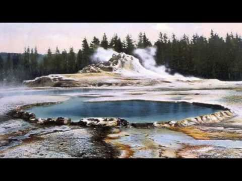The Geothermal Areas At The Yellowstone Supervolcano.