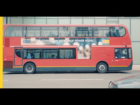 Coffee and a bright idea are helping power buses | Shell #ma