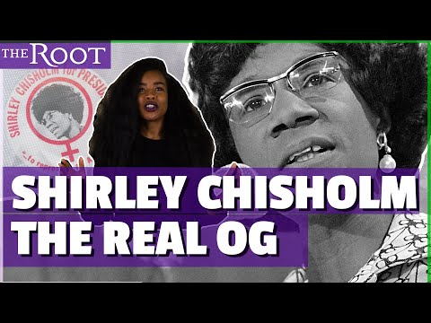 Before Barack Obama and Maxine Waters There Was Shirley Chisholm