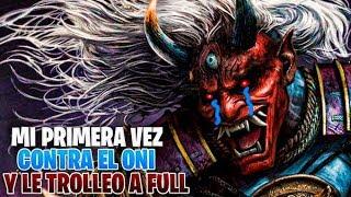DEAD BY DAYLIGHT | MI PRIMERA VEZ CONTRA EL ONI Y LE TROLLEO A FULL SIN PERKS ! FINAL INESPERADO