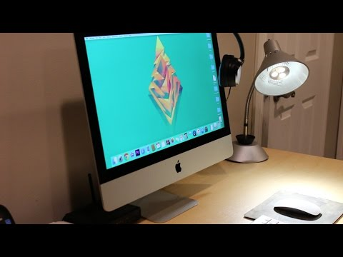 HOW TO CLEAN YOUR iMac SCREEN!