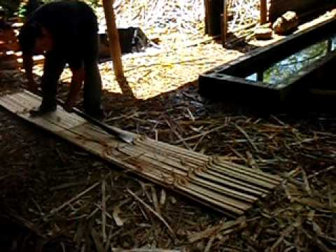 Making Bamboo boards Pt 1