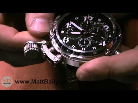 Video Watch Presentation of U-Boat U-51 from Baselworld 2010