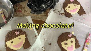 초콜릿만들기/ 그냥초콜릿만들기/ 아무것도없이초콜릿만들기…