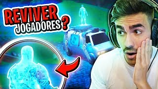 SECRET VAN AT FORTNITE! SEE HOW TO GET BACK TO DEPARTURE AFTER DEAD!