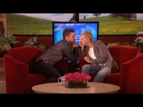 Justin Timberlake's Best Moments On Ellen