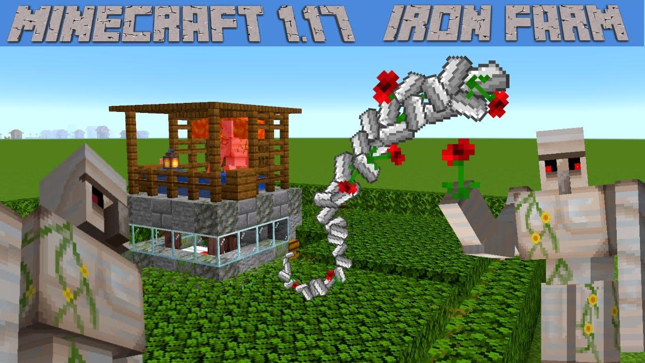 Minecraft Iron Farm Tutorial for Minecraft 1.17 | Small Easy Iron Farm for Minecraft Survival