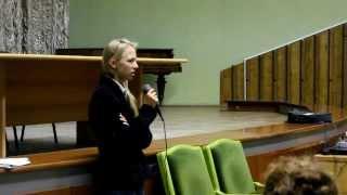 Дарія Кудрицька про вступ до ВНЗ та потребу боротьби з корупцією(, 2013-11-20T15:23:42.000Z)