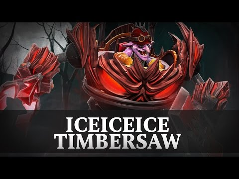 iceiceice (Timbersaw) - FACELESS vs. MINESKI.GGNETWORK @ SL i-League StarSeries S3