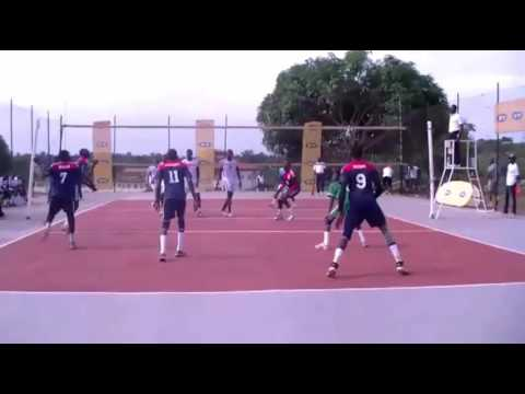 Volleyball setter highlight University games 2016