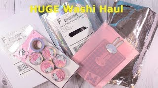 Simply Gilded & Sassy Club HUGE Washi Tape Haul Planners Journals   PaulAndShannonsLife