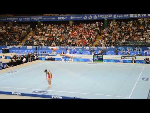 Championnats d'Europe Senior 2016 - Siemon Volkaert - sol (qualifications)