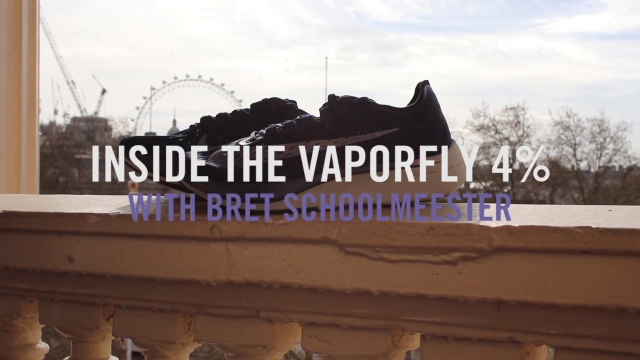 Inside The NIKE VaporFly 4% With Bret Schoolmeester | SportsShoes