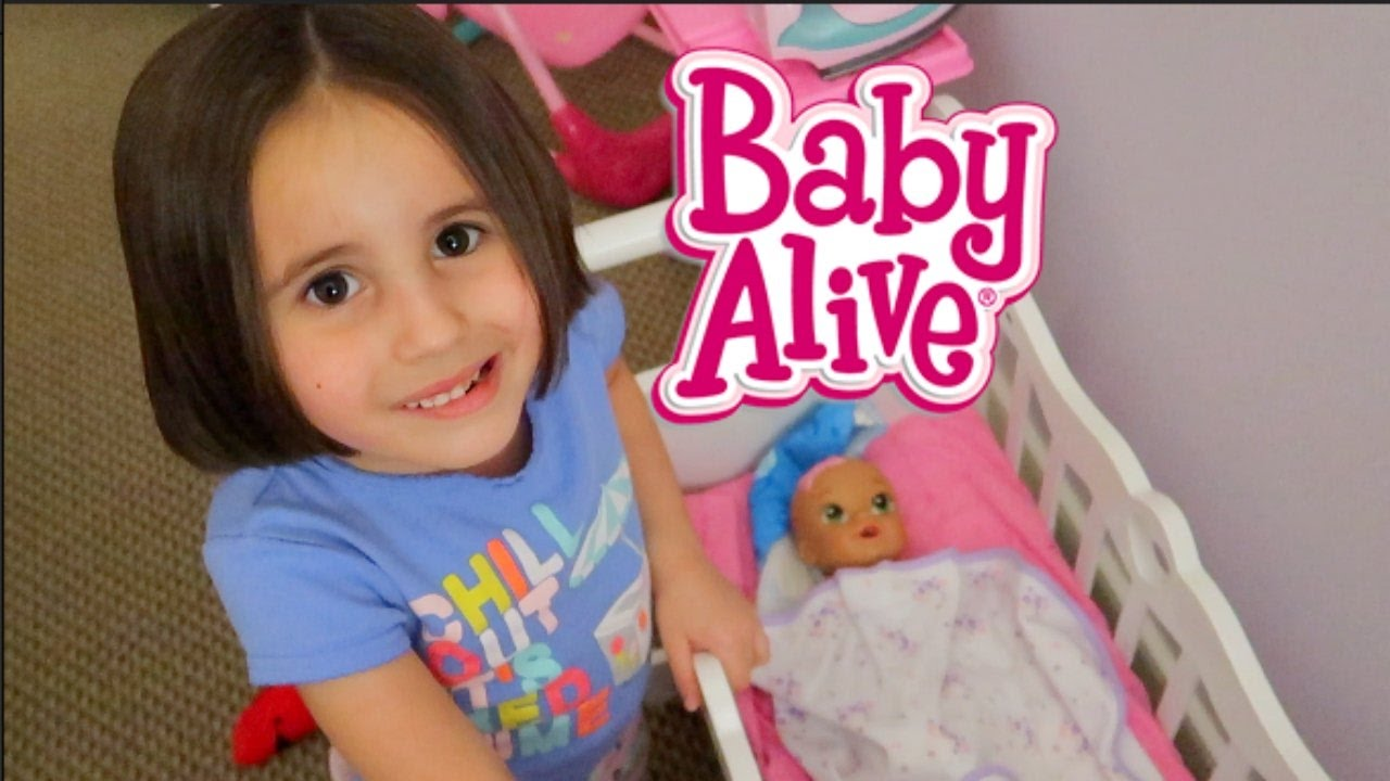 Baby Alive Night Time Routine Theplussideofthings Youtube