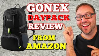 Gonex 35L Lightweight Travel Daypack Review - From Amazon
