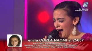 20140111 Naomi de los Santos Habla con los ojos Se llama copla