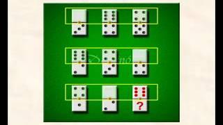 Cómo resolver los test de fichas de dominó