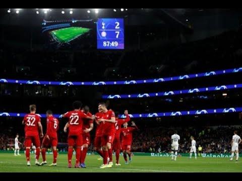 Calendrier Bayern.Les Stats Folles De Tottenham Bayern Munich 2 7 Foot C1