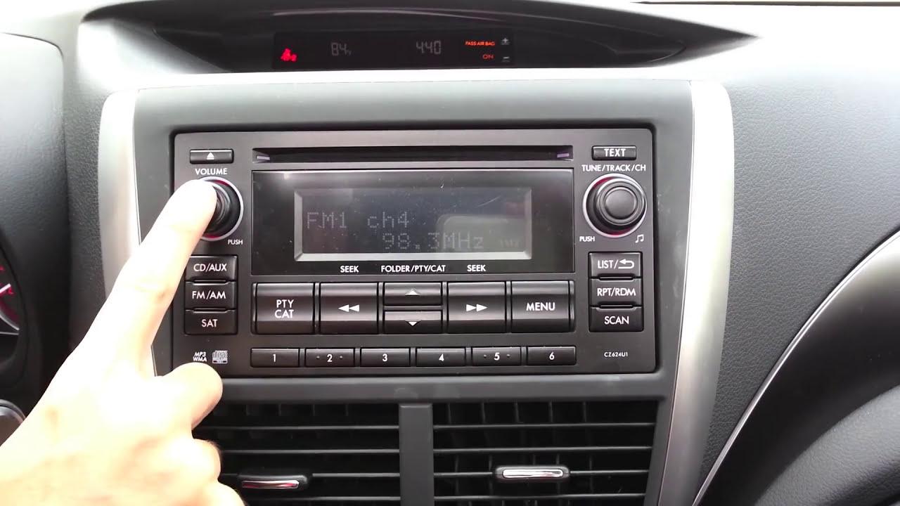 Subaru Stereo Hidden Menu, Tweaks, And Optimization  Mr Impatient 05:24 HD
