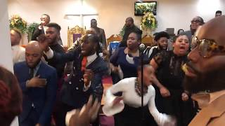 "Vincent Bohanan & SOV Choir 4th Sunday Service "" Pentecostal Power"" (2018)"