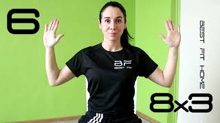 home fitness routine breathing exercises