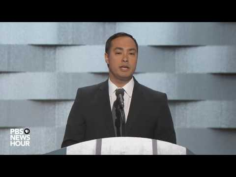 Watch Rep. Joaquin Castro's full speech at the 2016 Democratic National Convention