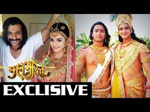 arjun draupadi amp krishnas behind the scene photos from