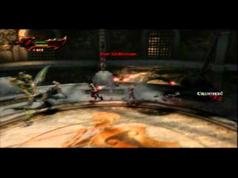 God of War 3 Walkthrough guia Desafios del Olimpo GET STONED 3/7