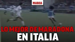 Por esto Maradona es Dios en Nápoles: sus hipnotizantes mejores jugadas en Italia I MARCA